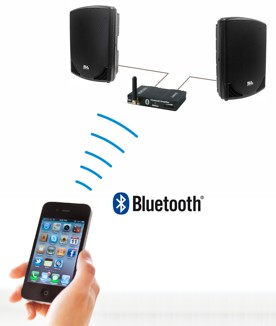 bluetooth audio receiver application