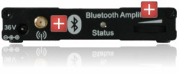 Bluetooth Receiver Rear