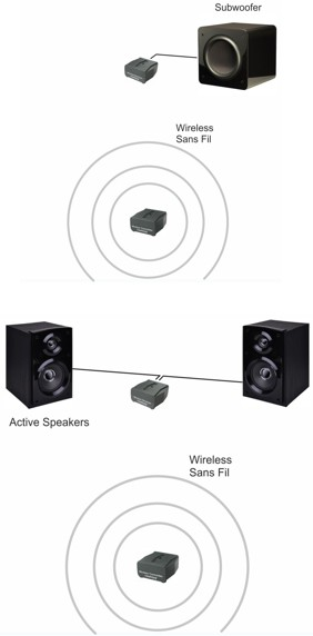 speaker kit application
